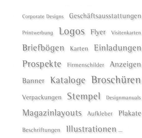 Designerin Berlin Grafikdesign Printwerbung Logos Flyer